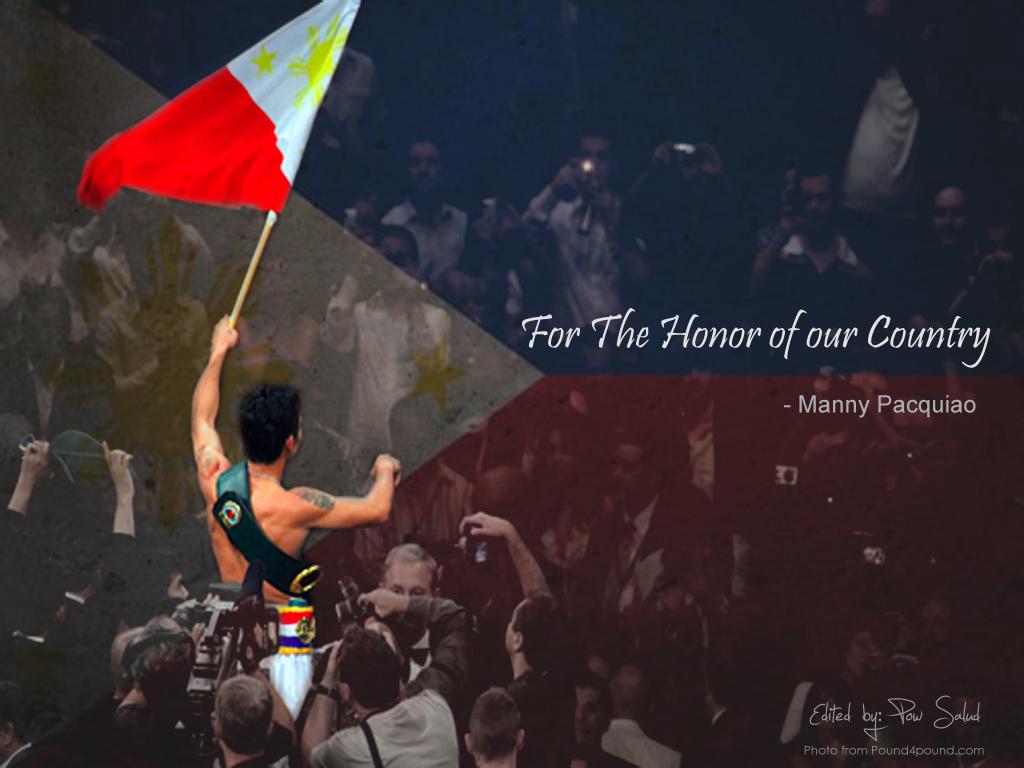 Philippine Flag Pow Salud Studio