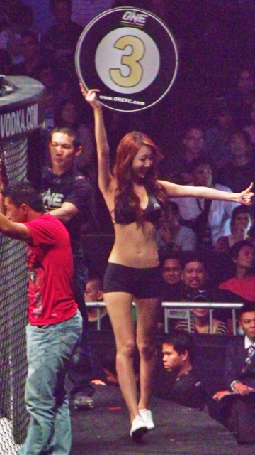 OneFC ring girls Manila