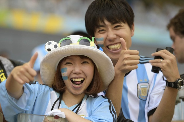 Japanese Argentine fans