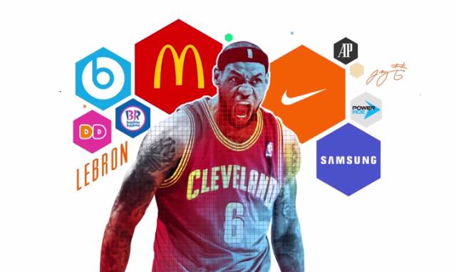LeBron Jame's sponsors
