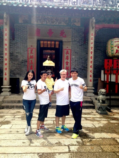 Freddie Roach in China
