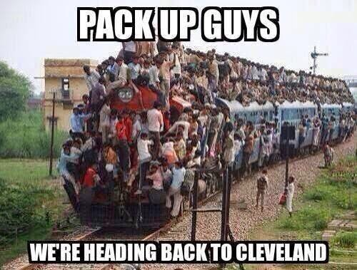LeBron Bandwagons goes to Cleveland