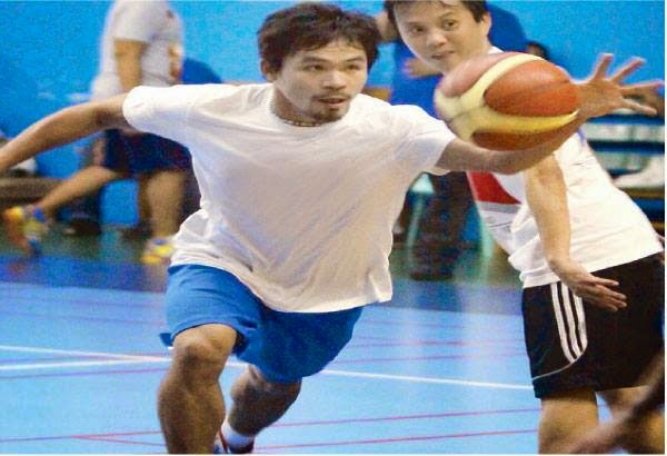 Manny Pacquiao Exhibition game
