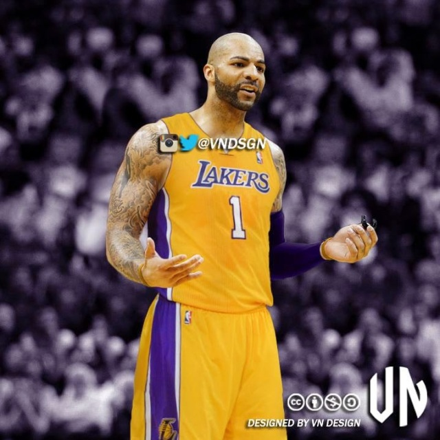 Carlos Boozer Lakers uniform