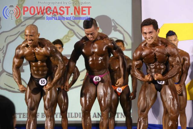 Bodybuilders in the Philippines