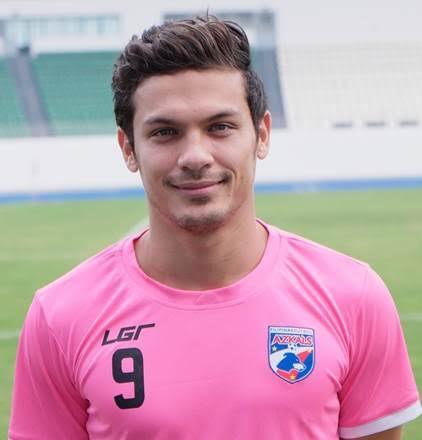 Fil-Iranian, midfielder Misagh Bahadoran