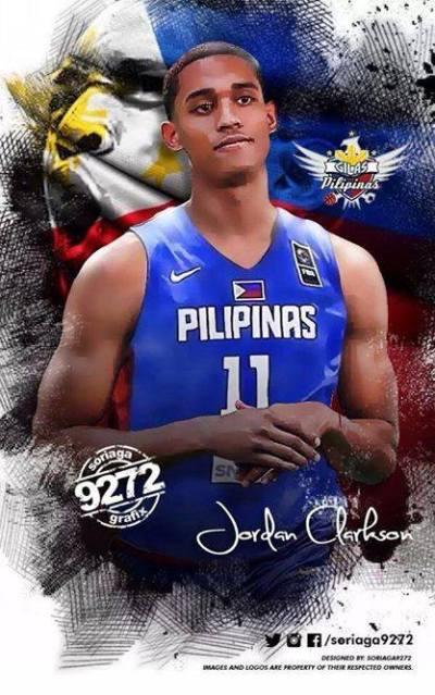 Photo: Jordan Clarkson for Team Pilipinas