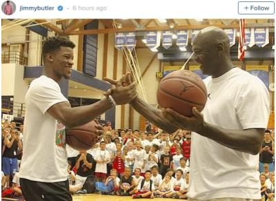 Jimmy Butler and Michael Jordan battles, who won?