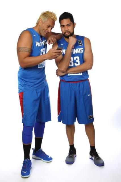 Gilas Pilipinas Funny photos at FIBA Asia