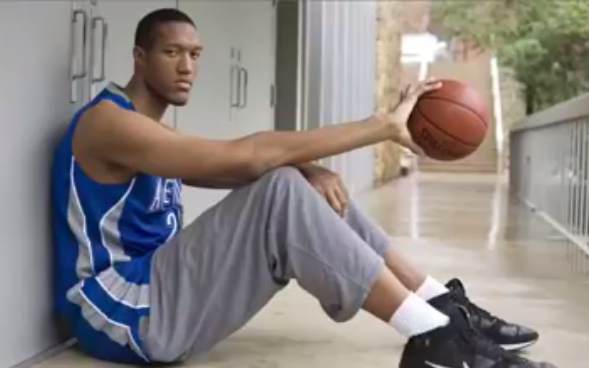 These basketball players does not need to jump to dunk! Watch it