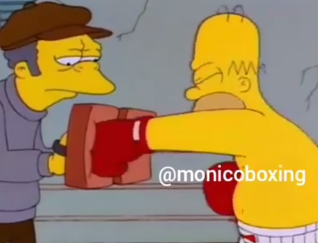 When you try boxing for the first time thinking its going to be easy