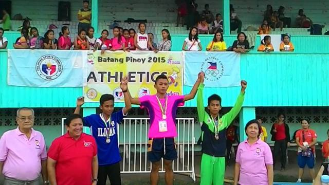 Batang Pinoy 2015 - Mindanao Leg - Athletics - Day 1 Report Dagmil protege wins 100 Dash