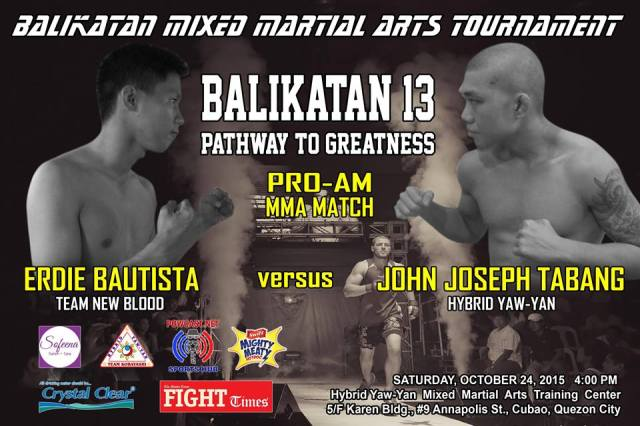 Watch Balikatan 13: Pathway to Greatness Pro-Am MMA Event on October 24