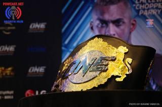One Championship belt