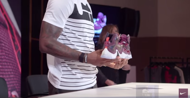 LeBron 13:  New shoes is dope , check out these features : Videos and Photos
