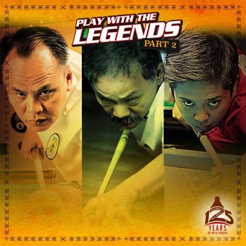 Play with the Billiard Legends  Rubilen, Django at Efren on December 5