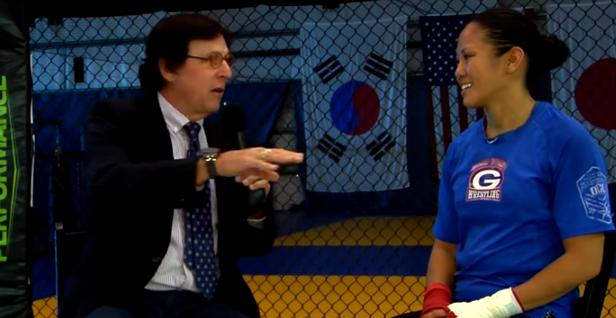 The G-man interviews Boxing and MMA star Ana Julat