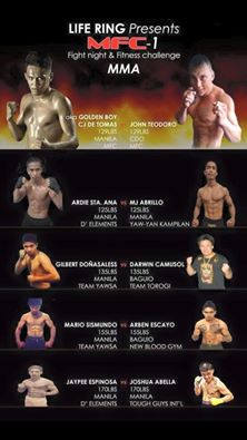 MFC1: Fight Card