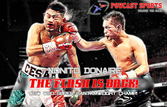 Flash is back! New WBO Super Bantamweight Champ! Definitely a Candidate for Fight of the Year!