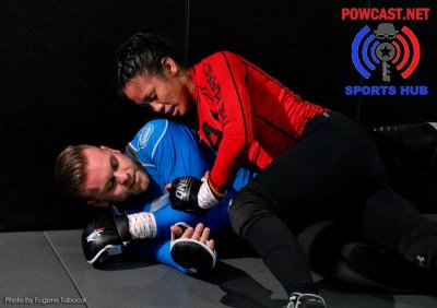 Photos: Ana Julaton Workout at KMA Fitness and Martial Arts Gym
