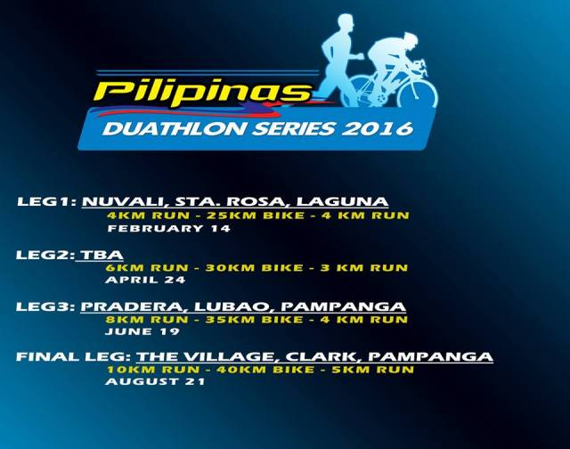 Pilipinas Duathlon Series Championship! Register Now