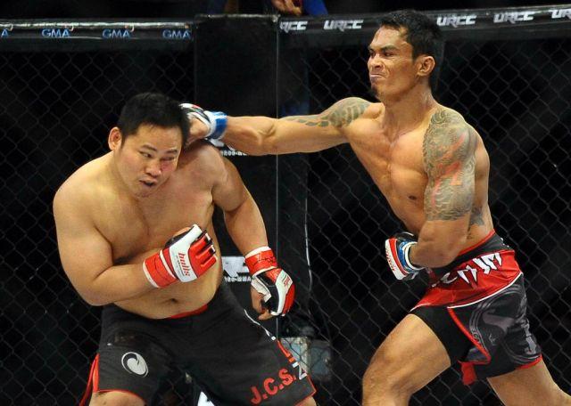 URCC Mark Palomar fights under UGB MMA Event on January 22