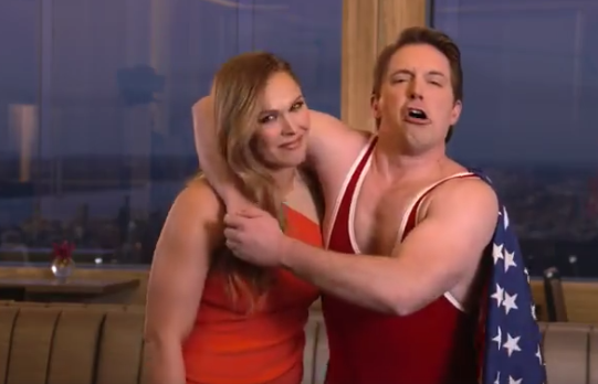 Ronda Rousey shows her Fun Side, hosted SNL