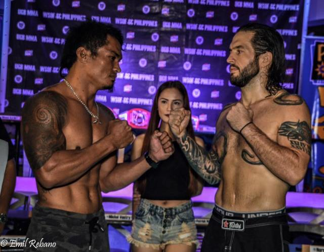 Mark Palomar vs Brad Robinson with Jefe Musayac