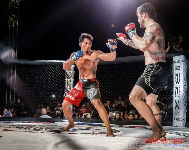 The Middleweight championship bout between Mark Palomar and Brad Robinson at UGB 13/ WSOF Foreign Invasion 1