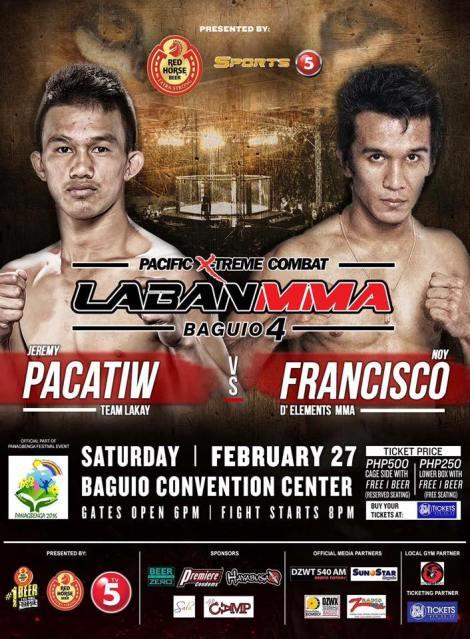 Laban MMA Baguio 4 , Pacatiw vs Francisco