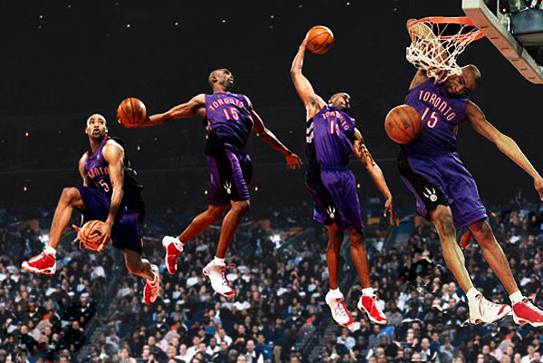 Vince Carter Epic Dunks in Toronto, We Guarantee It's Good!