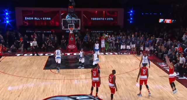 Top 10 NBA Plays: All-Star Sunday Including this Half court Shot by  Curry