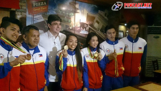 The Philippine National Squad Team
