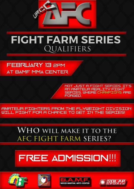 AFC: Fight Farm Series Qualifiers