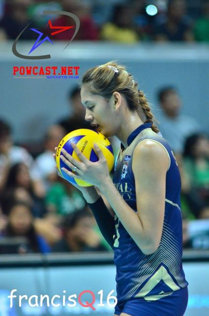 Photo of the Day:  NU Volleyball Player Alyja Daphne A. Santiago