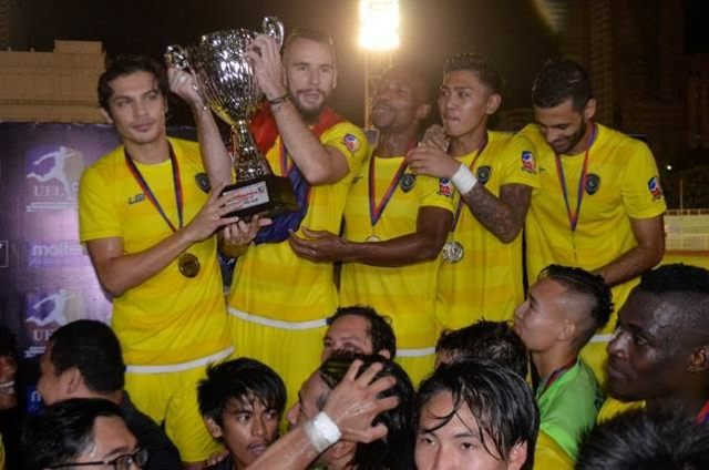 GLOBAL FC CLAIMS THIRD UFL CHAMPIONSHIP