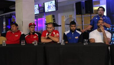 Photos: 2016 PBA Commissioner's Cup Finals Press Conference: No more smiles on game night