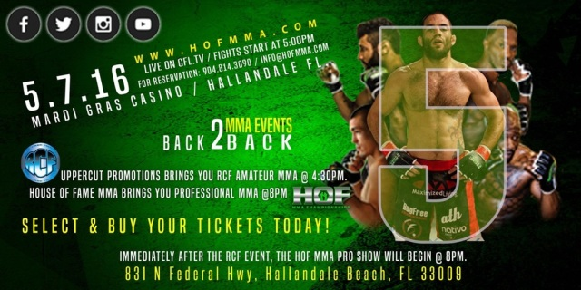 United Fight Alliance is Proud to Present House of Fame MMA 5: Resurrection Day