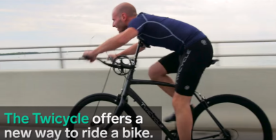 Video: A bike you can pedal with your arms, It's for real!