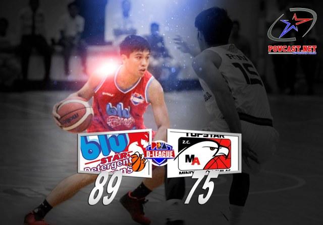 Blu Star Detergent Dragons vs. Topstars ZC Mindanao
