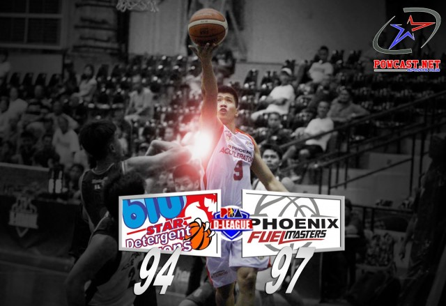 Blu Star Detergent Dragons vs Phoenix Accelerators