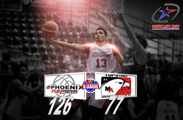 PBA D -League: Phoenix Accelerators vs. Topstar ZC Mindanao