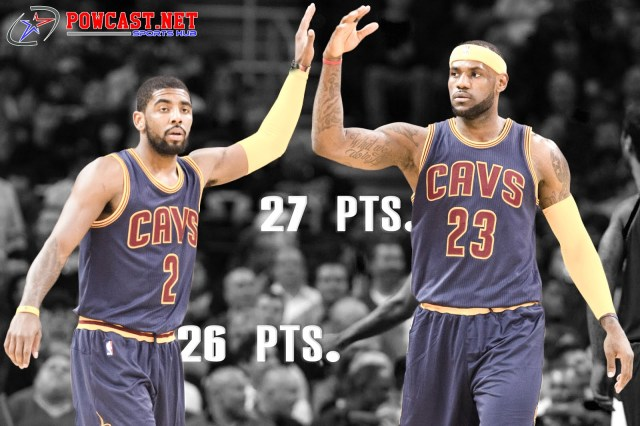 Kyrie and Lebron