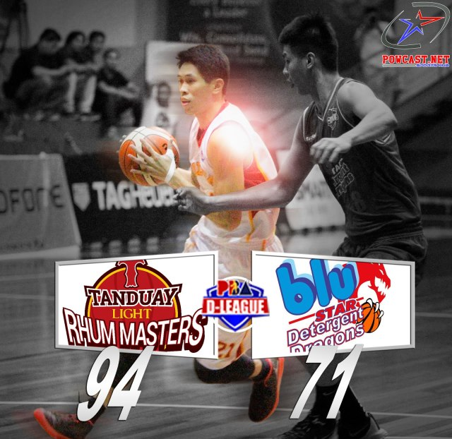 Tanduay Rhum Masters vs. Blue Star