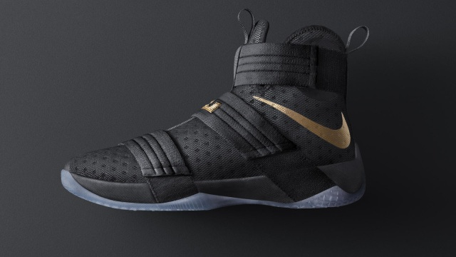 LeBron James Nike Zoom LeBron Soldier 10 iD Helped improved His Performance