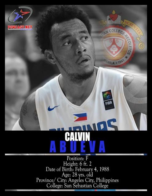 Calvin Abueva Gilas Pilipinas