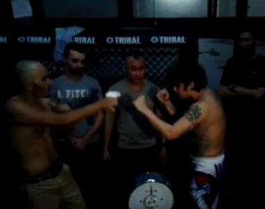 Warning Explicit: Video of Kiko Matos vs Baron Geisler Weigh-in Incident