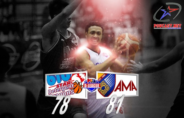 PBA D - League: AMA vs. BLU STAR