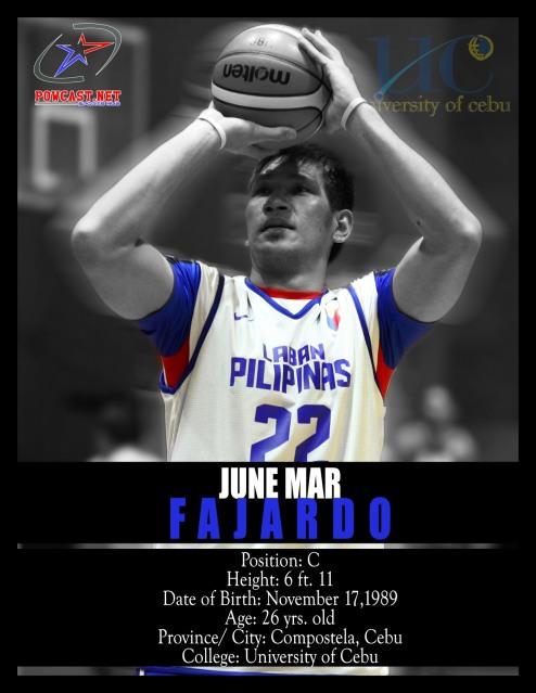 June Mar Fajardo Gilas Pilipinas