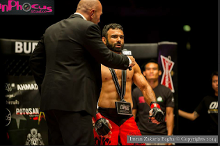 US Army Veteran and One Championship Pakistani Mixed Martial Arts Pioneer Bashir Ahmad Exclusive Interview